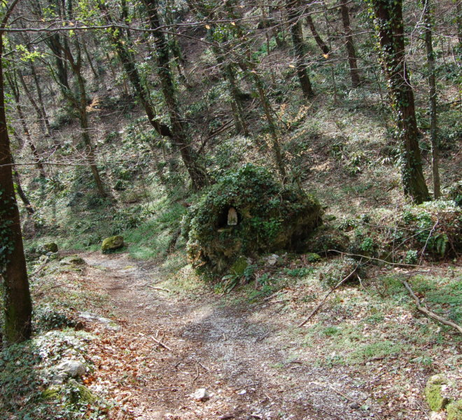 Sentiero Aula madonnina